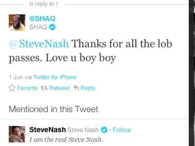 Shaq, NBA star: iPhone