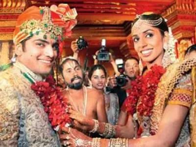 Indian wedding celebrations last for days