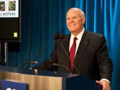 General Motors' CEO Dan Akerson