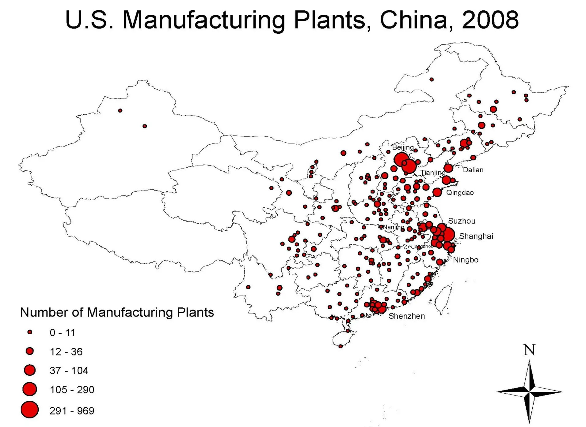 How American Companies Decide Where To Put Their Chinese