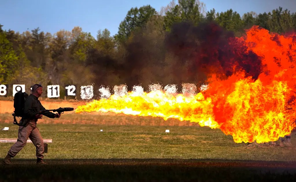 4. Incendiary Weapons