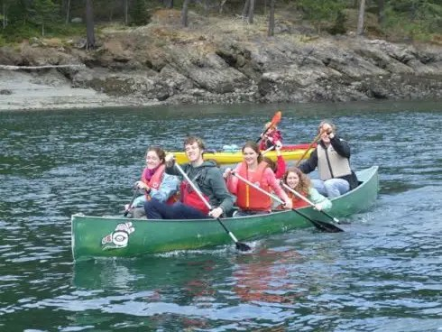 At Canoe Island French Camp, students learn to speak French.
