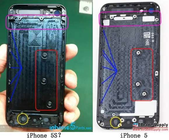 But that doesn't mean it will be exactly the same as the iPhone 5.