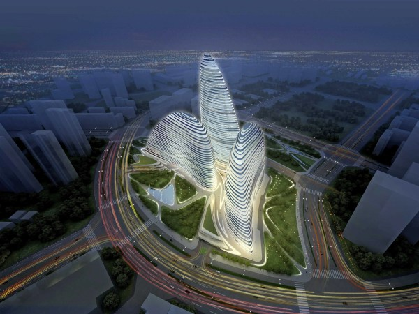 Zaha Hadid' Pirated Building - Business Insider