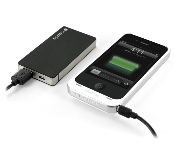 The Mophie juice pack powerstation mini helps keep your phone charged while you're on the go.