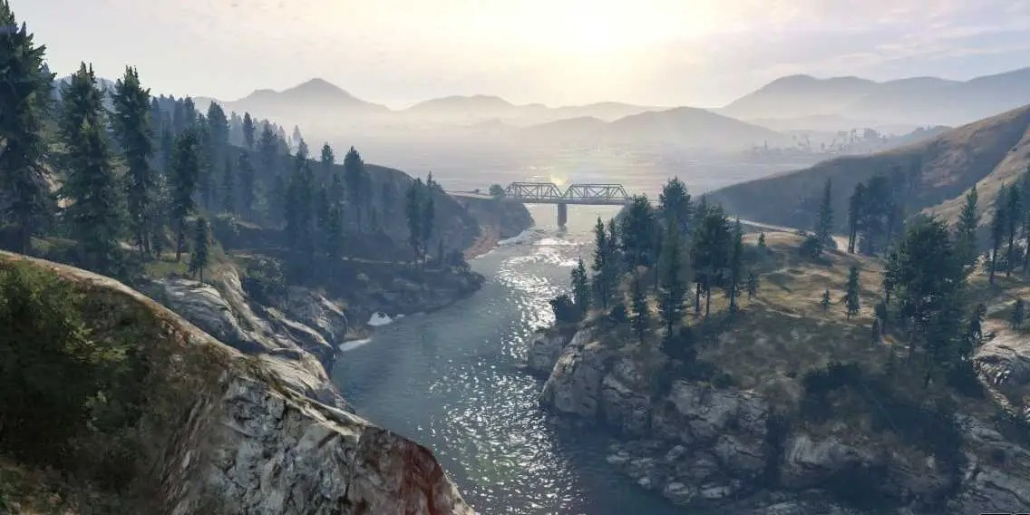 Car Chases Wallpaper Grand Theft Auto V Landscapes Business Insider