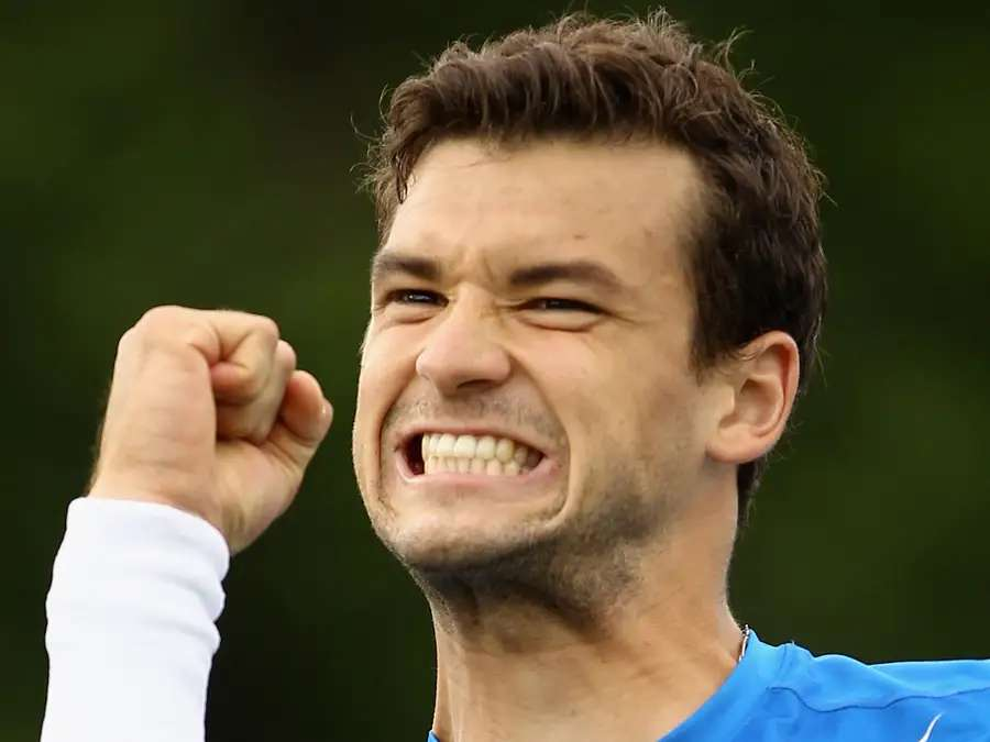 He's a 21-year-old Bulgarian tennis player who is racing up the world rankings (he's #28 right now)