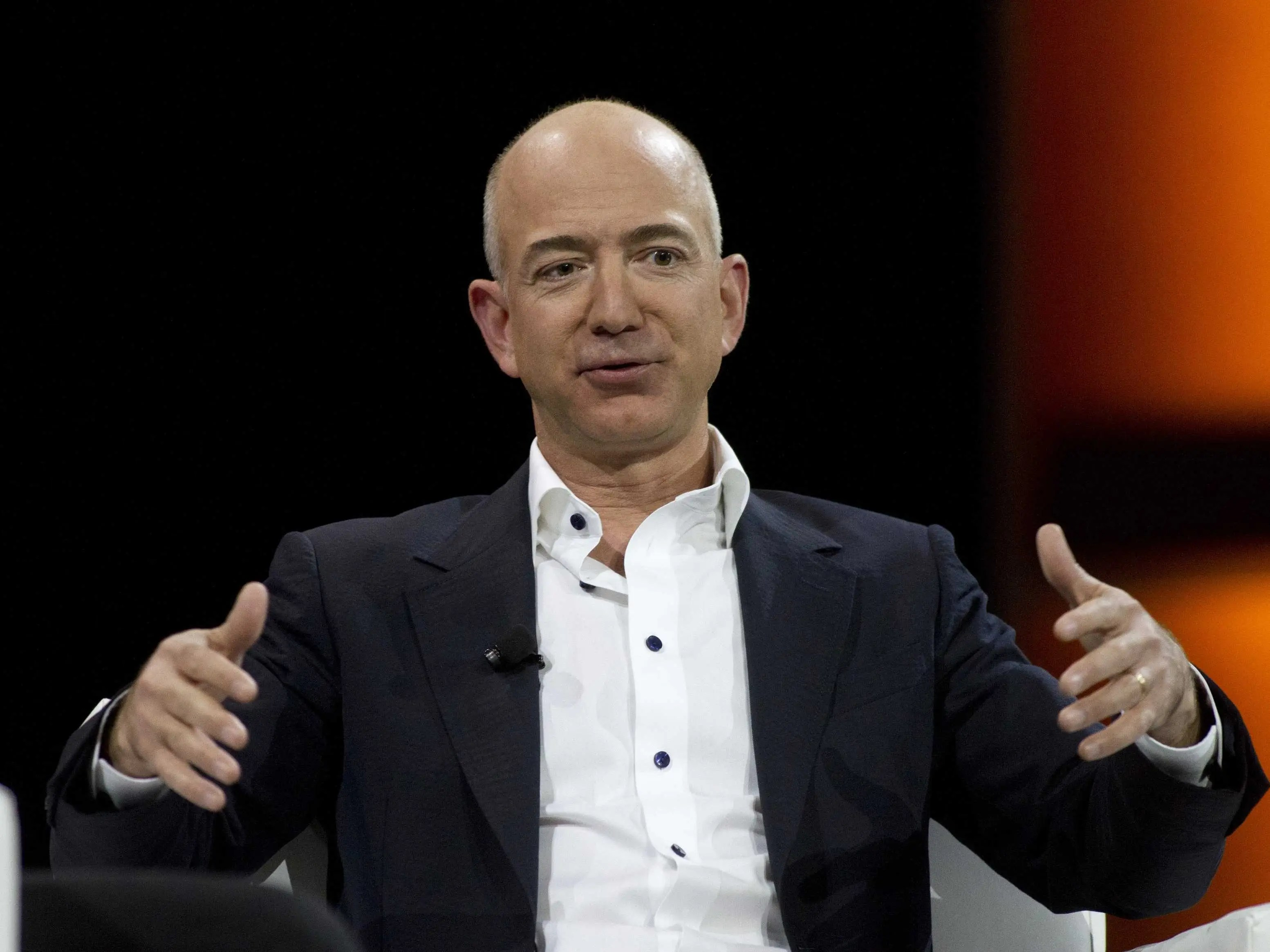 Amazon's Jeff Bezos: grill cook at McDonald's