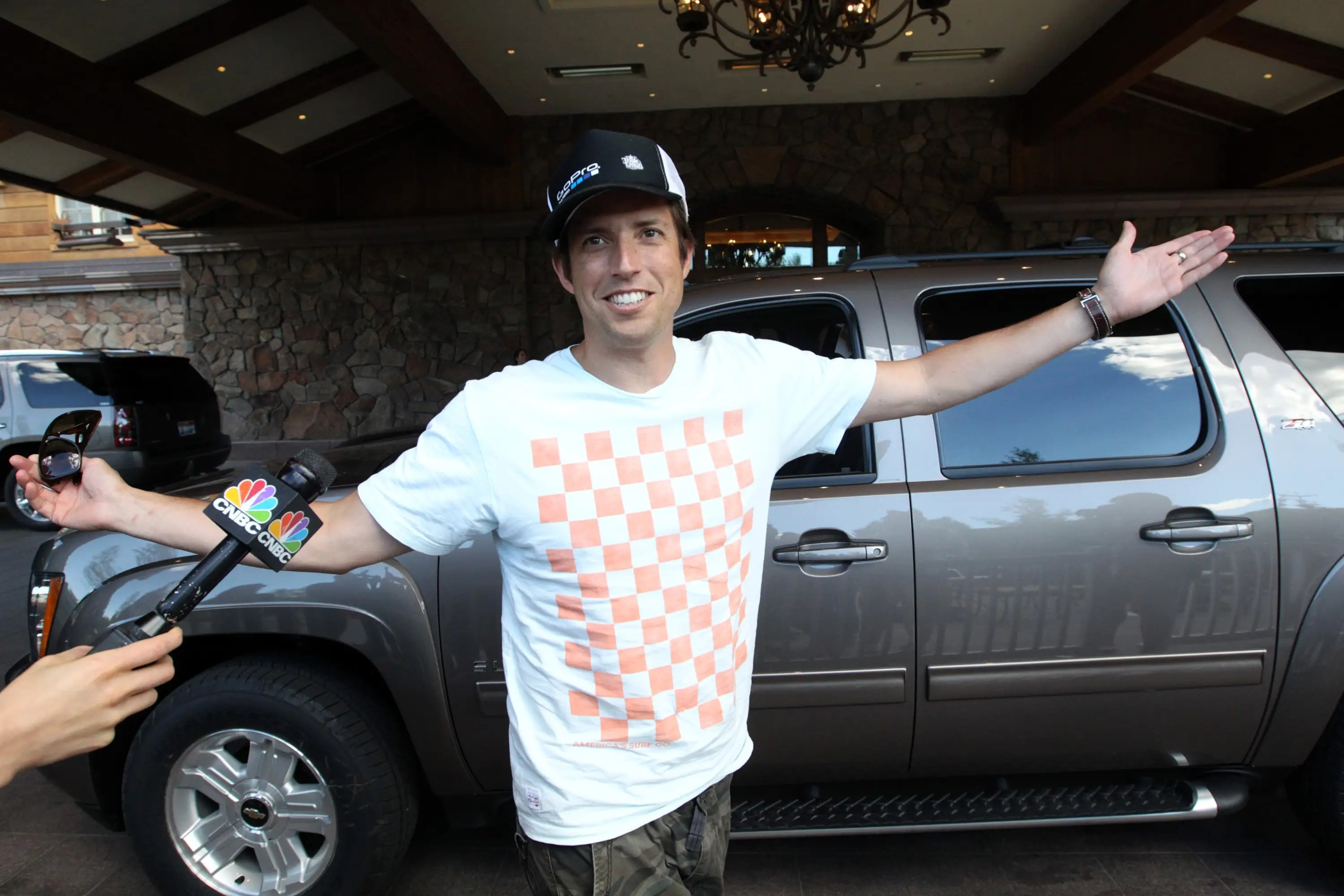 Nicholas Woodman, founder of GoPro cameras, is a new face on the scene.