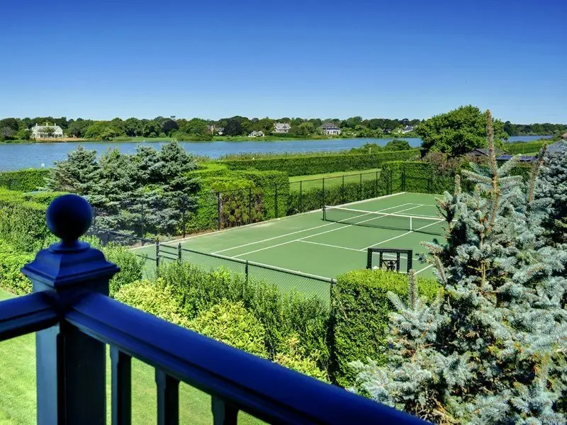 Or play a friendly game of tennis on the nearby tennis court.