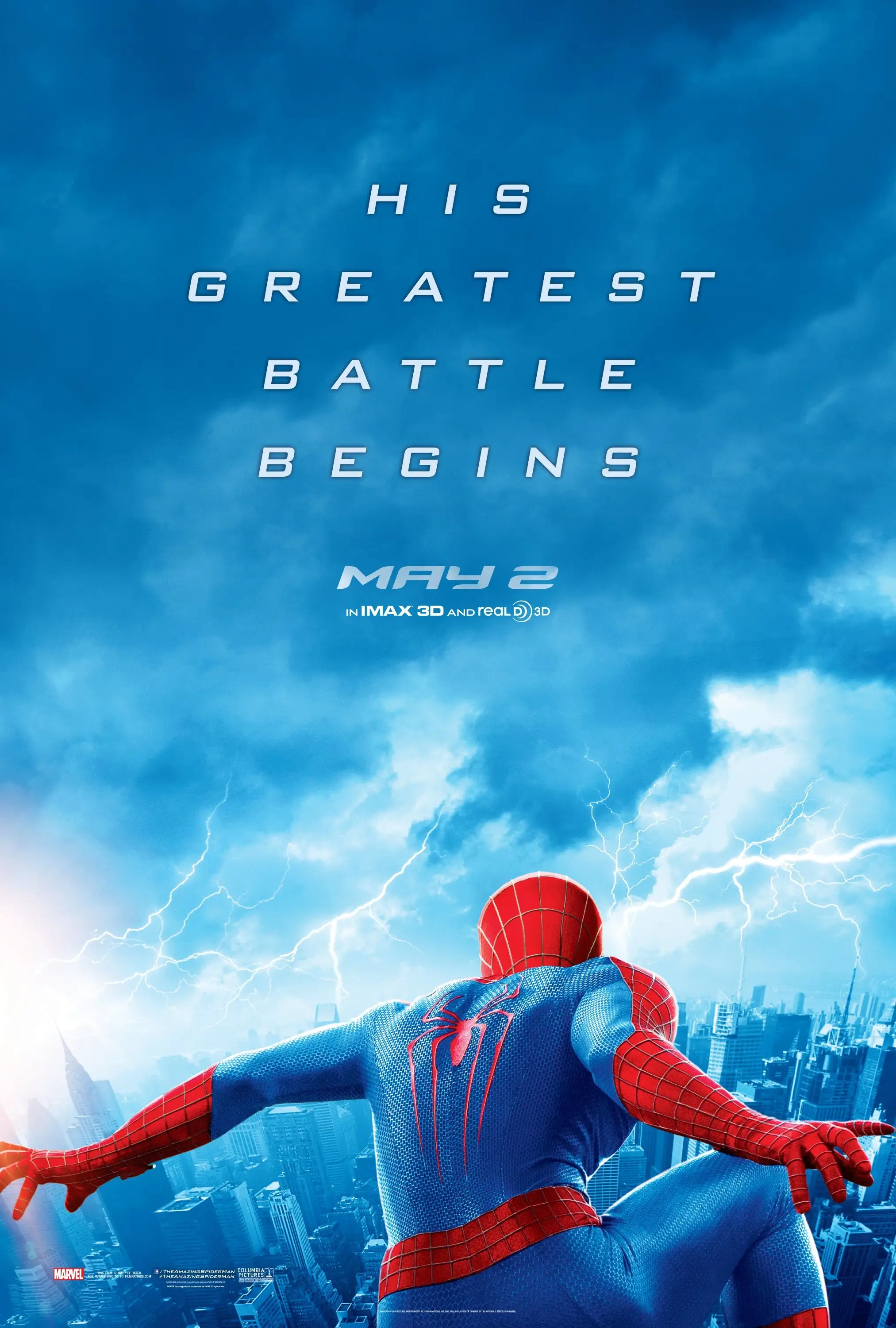 The Amazing Spider Man 2 2014 Dan The Man S Movie Reviews