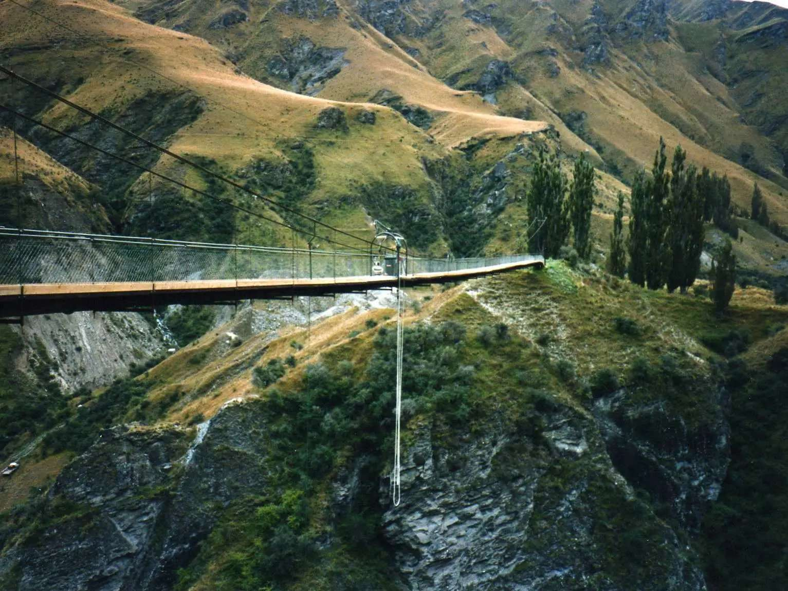 """Bungee jump in Queenstown, New Zealand, the """"adventure capital of the world."""""""