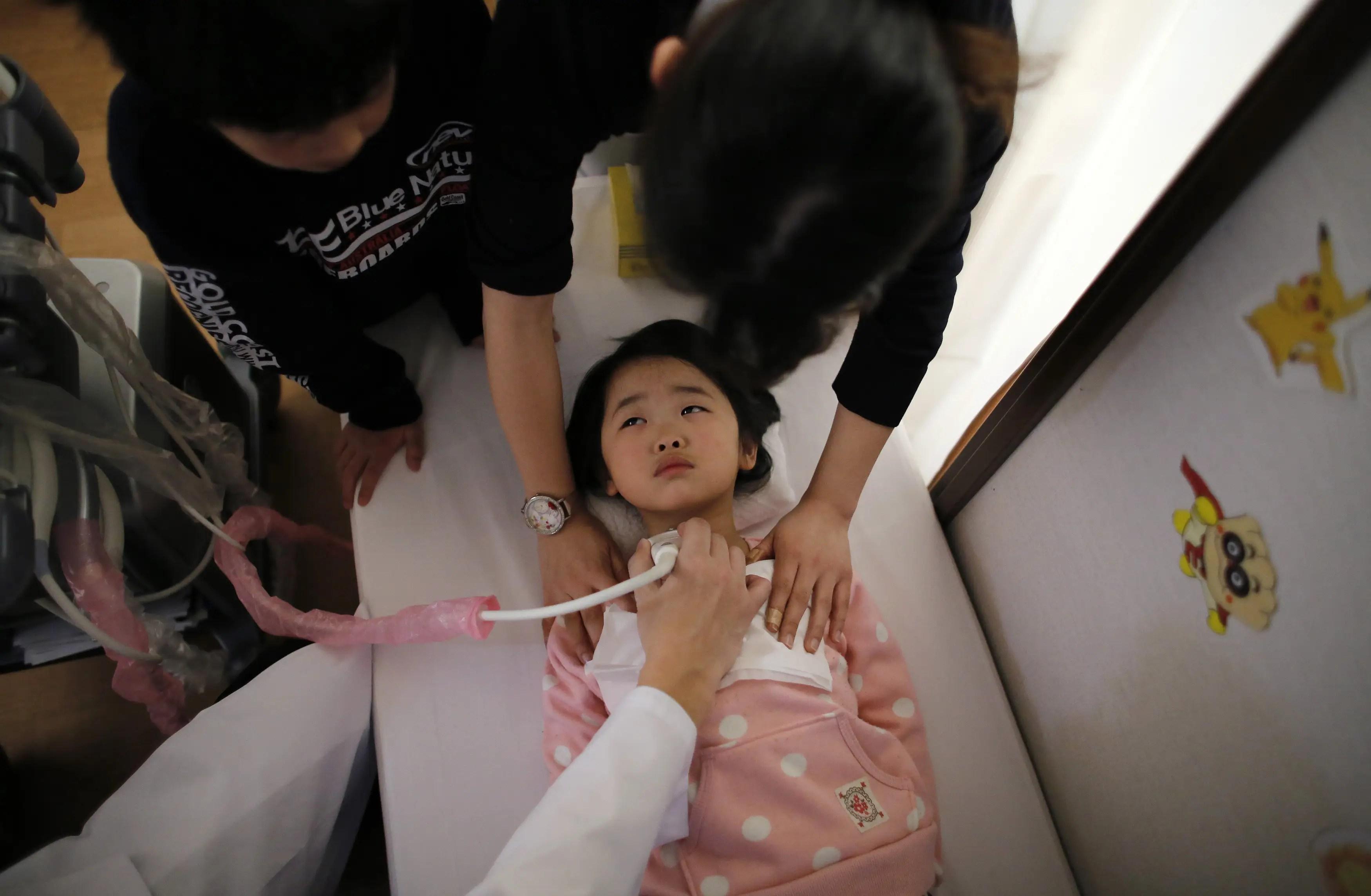 fukushima radiation children