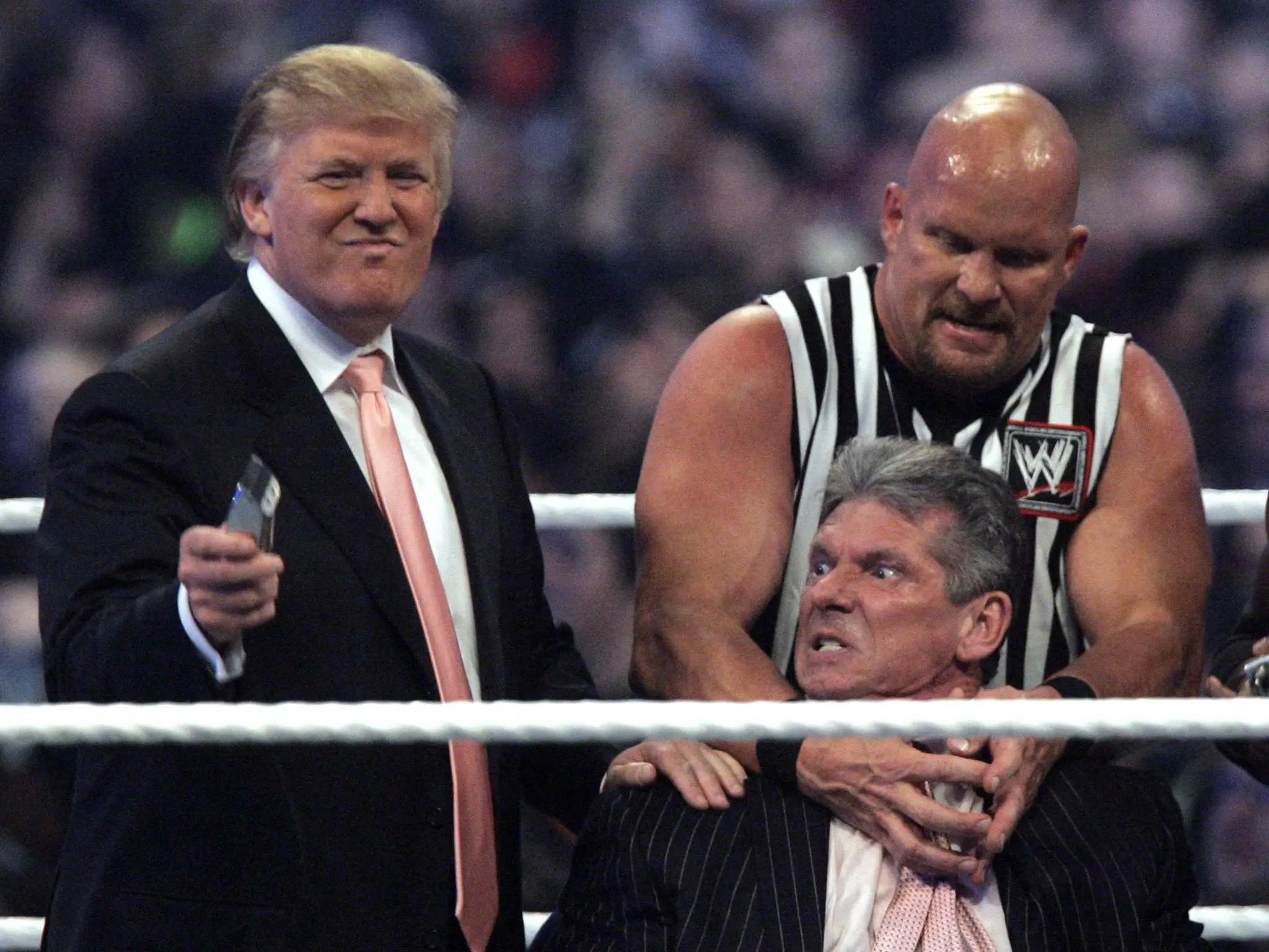 Image result for photos of trump WWE