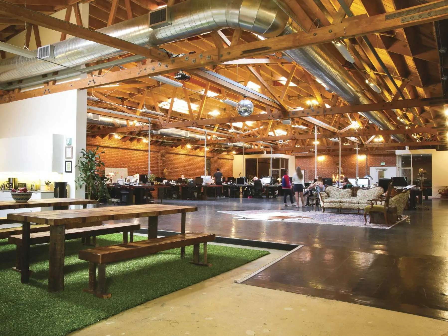 interesting office spaces commercial the movember foundation renovated hollywood legend debbie reynolds dance studio into sleek office space 31 most interesting offices youve ever seen financial post