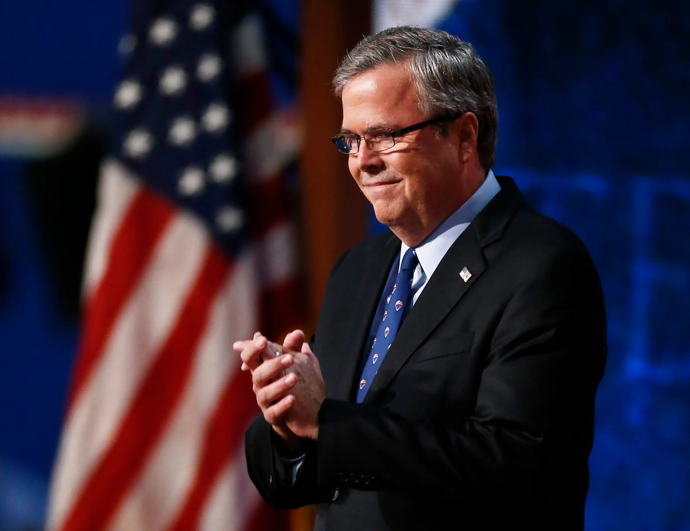 Jeb is considered a GOP front-runner for 2016.