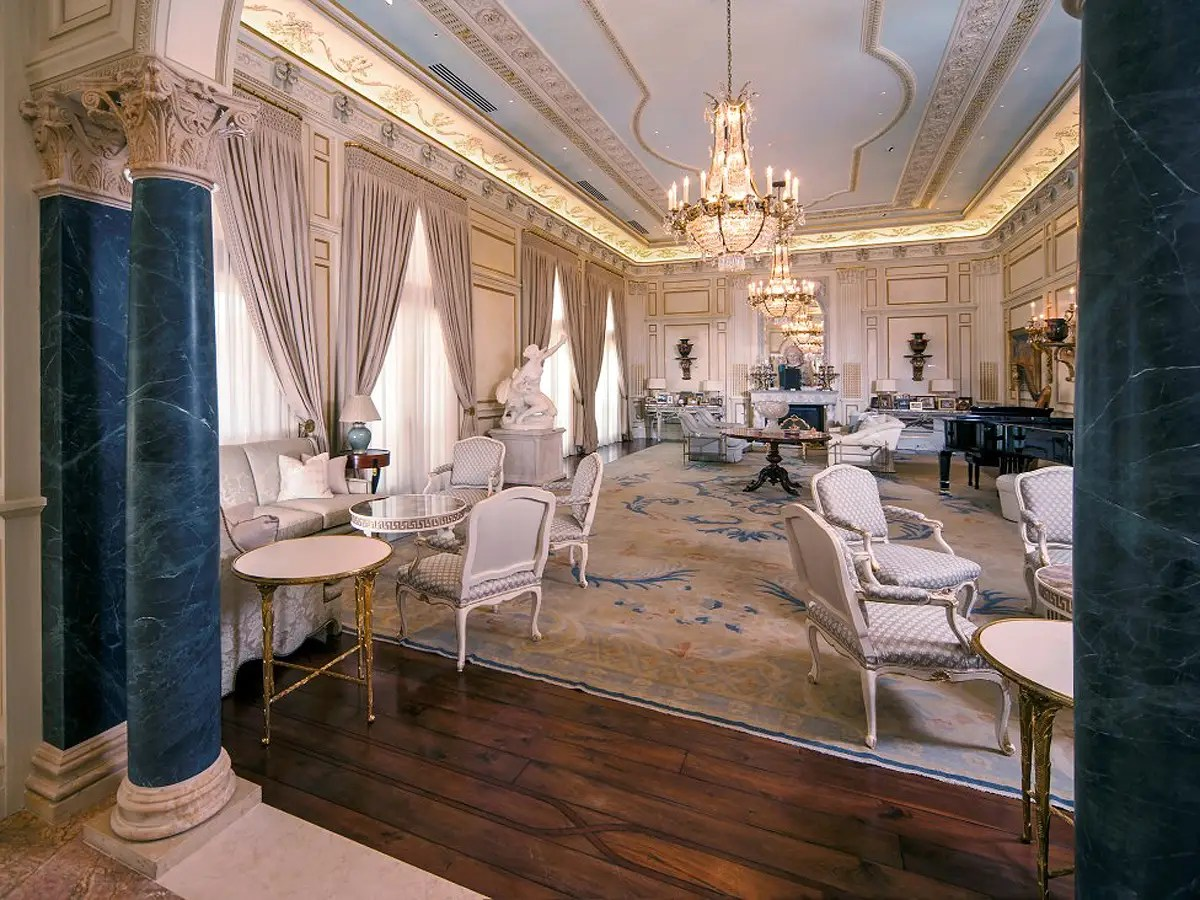 the chair salon houston sears bean bag 27 000 square foot chateau in texas business insider