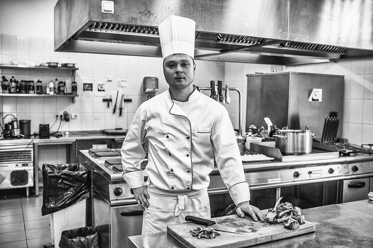 """Vasiliy, age 24. Profession: Cook. Passion or Dream: """"Food, football, ocean. My dream is to visit New Zealand."""""""