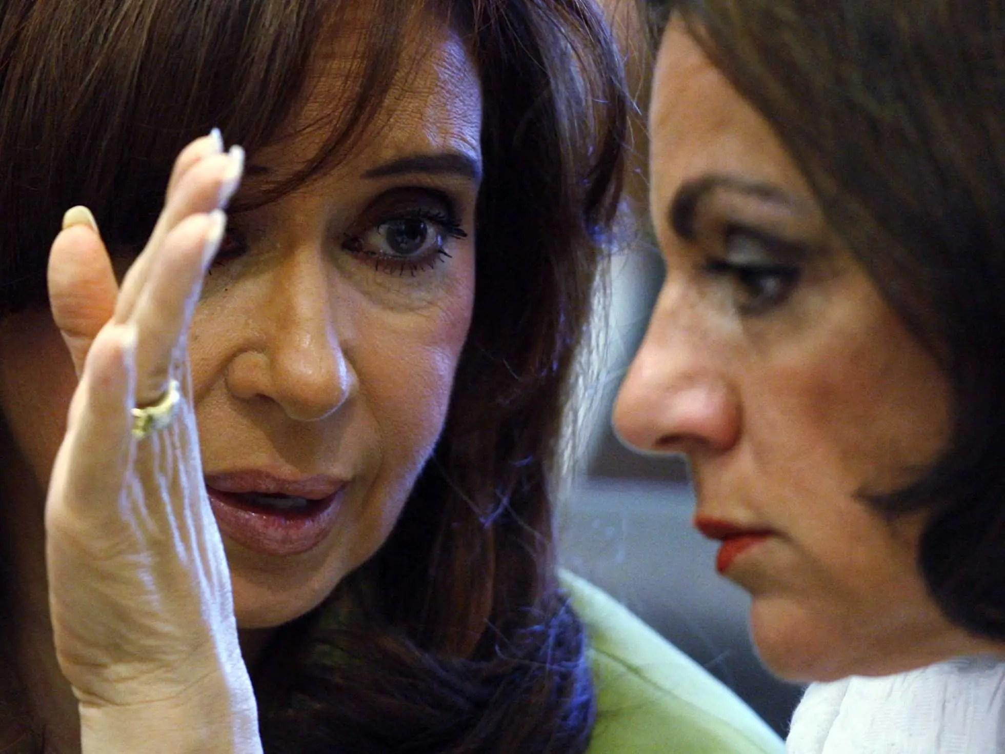 Cristina Fernández, Nilda Garré