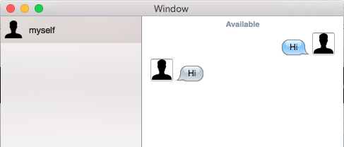 torchat message screenshot