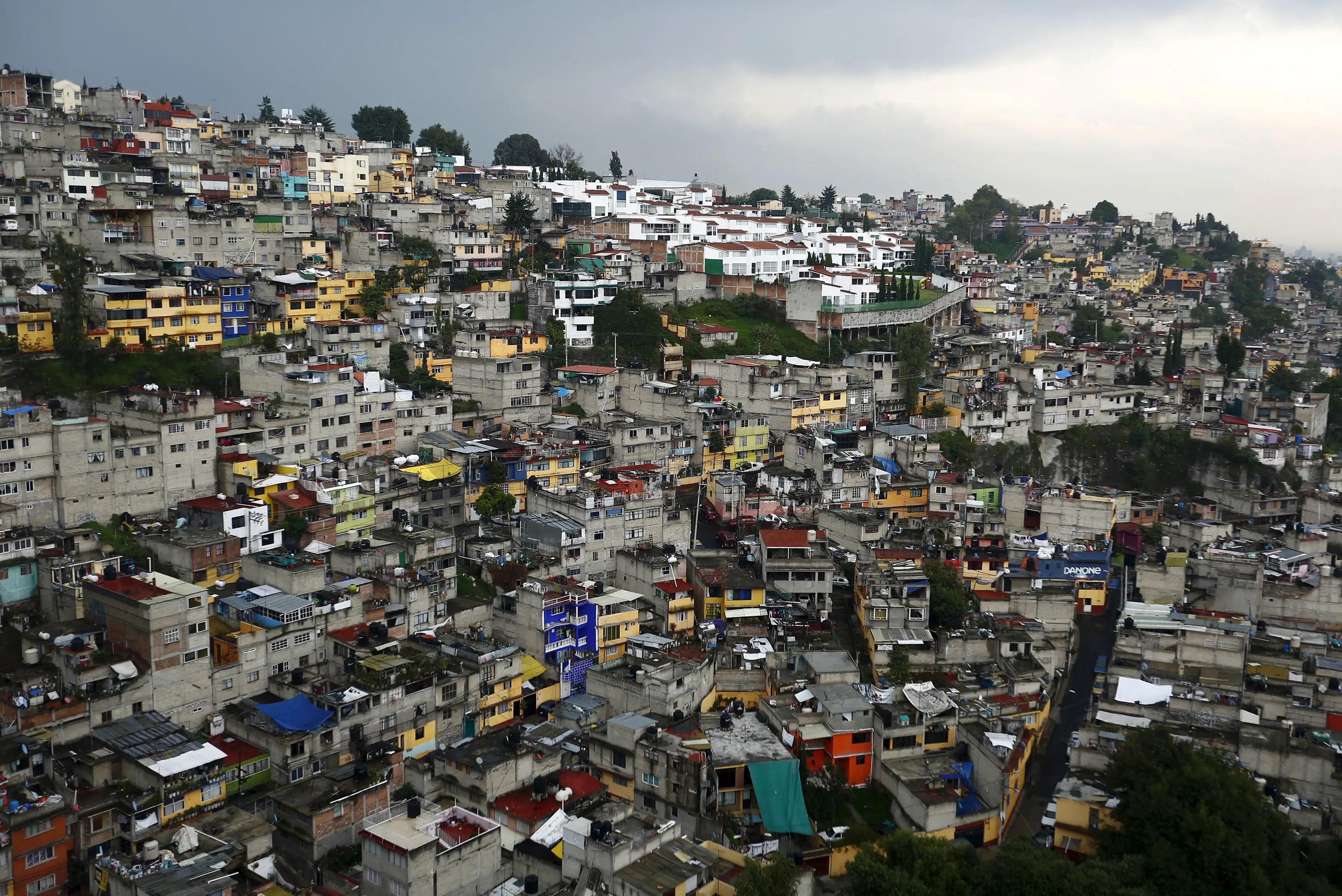 mexico city poverty