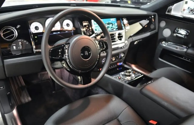 The extremely luxurious vehicle can be purchased for about $219,000.