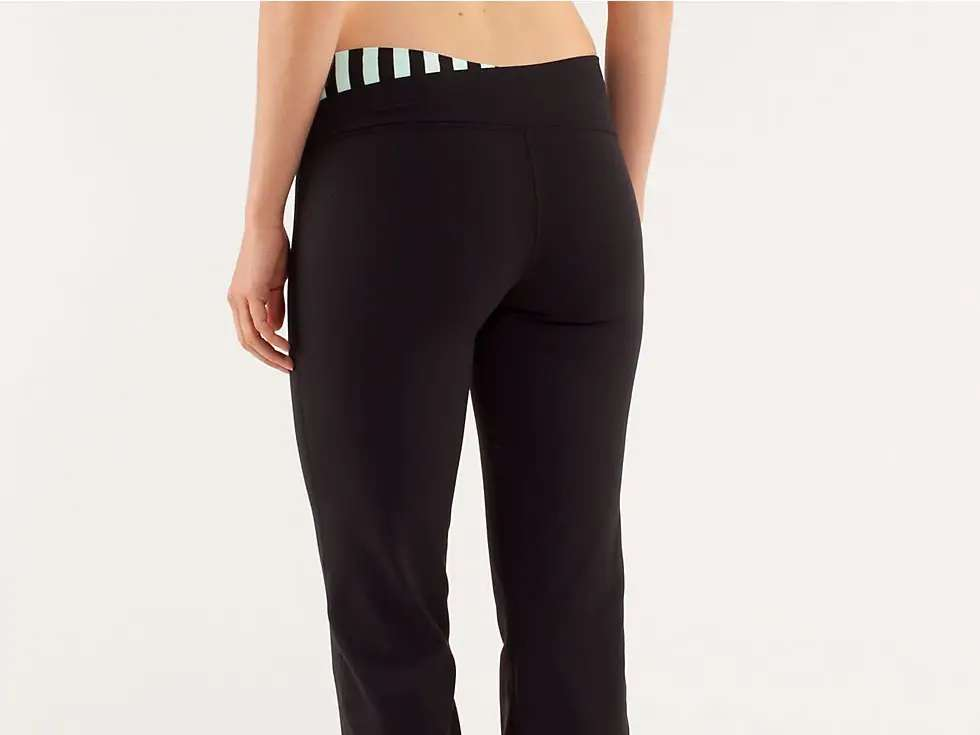 These are the pants in question: Lululemon's incredibly popular $98