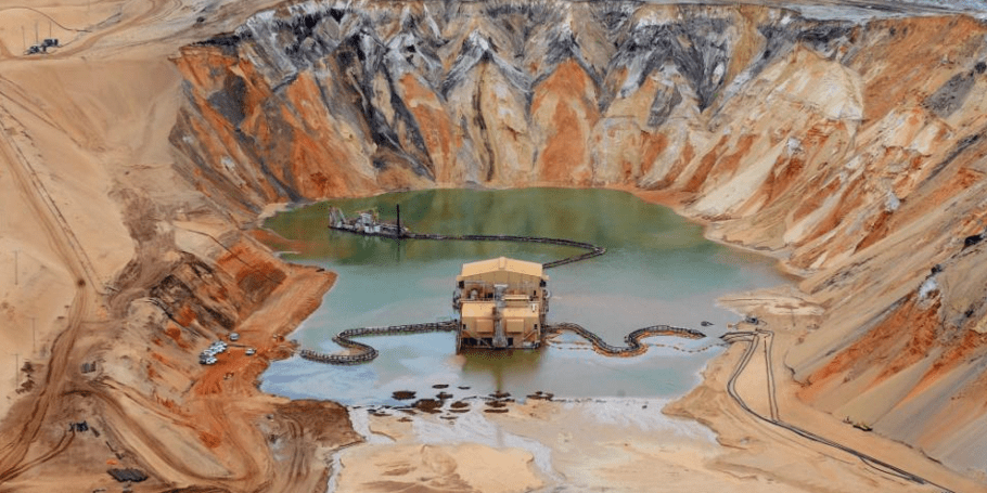 San Extraction Destroying World S Coasts And Rivers