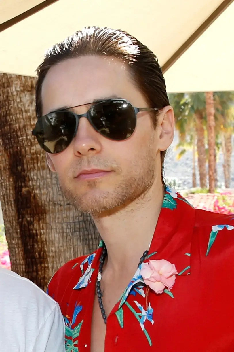 "Jared Leto took a rare break from creeping out his ""Suicide Squad"" cast mates to enjoy the sun."