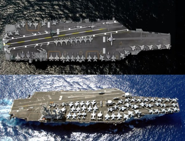 20+ Aircraft Carrier Size Comparison To Other Things Pictures and
