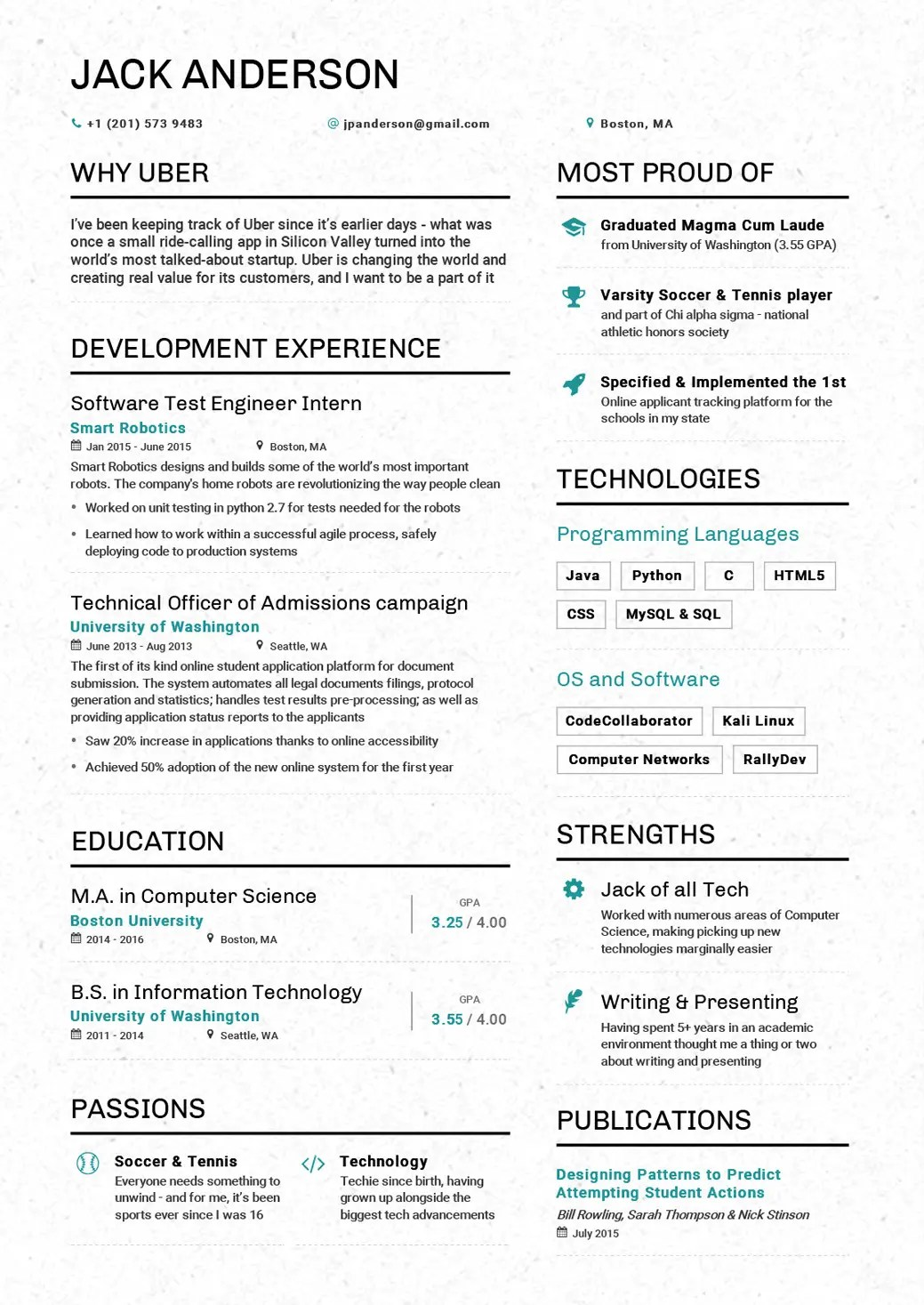 Revised Resume 7 College Grad Resume Mistakes Business Insider