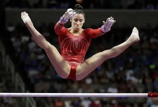 Aly Raisman earns her spot on US Olympic gymnastics team