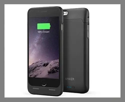 A battery phone case