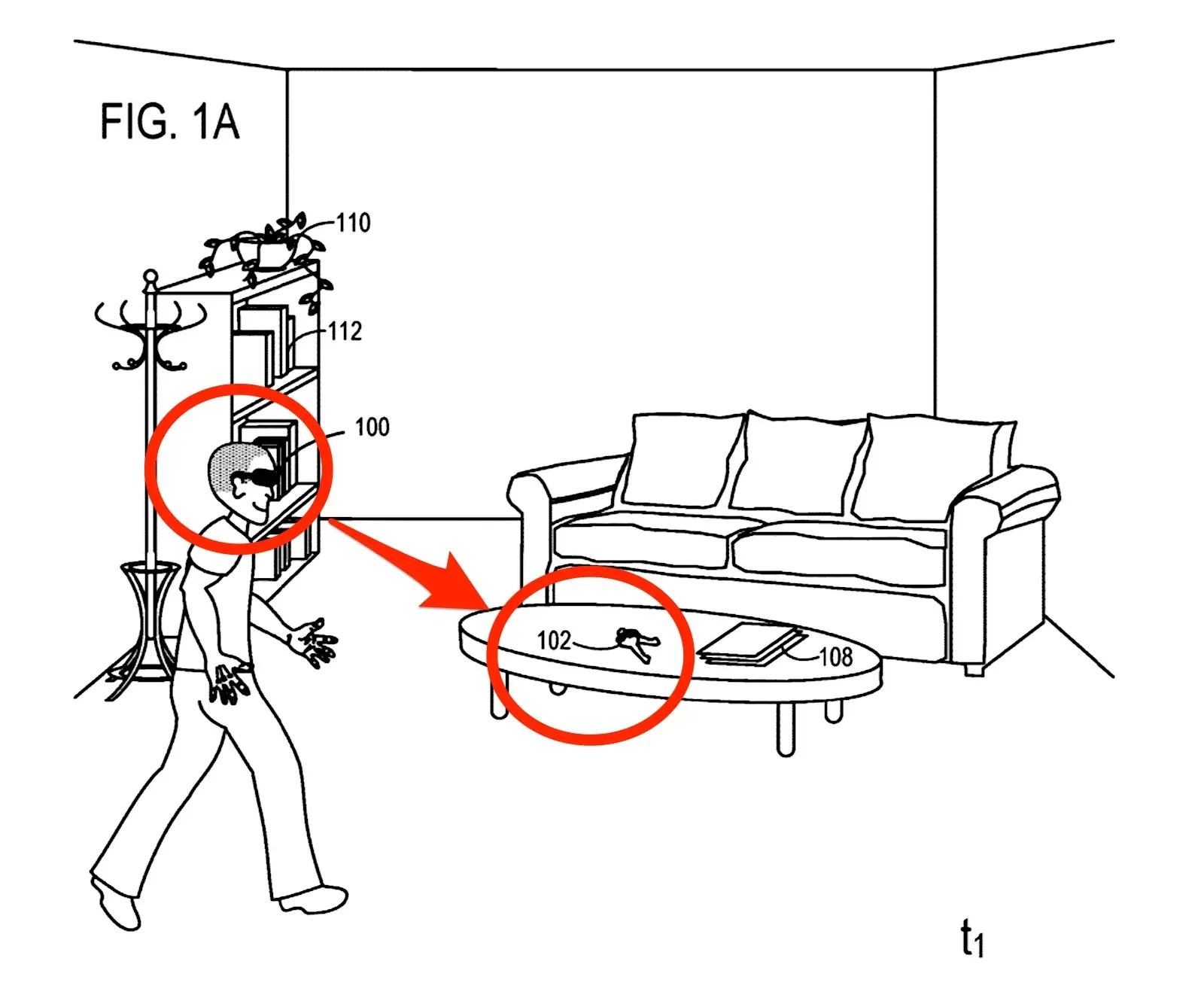 Microsoft patents futuristic way to stop losing keys