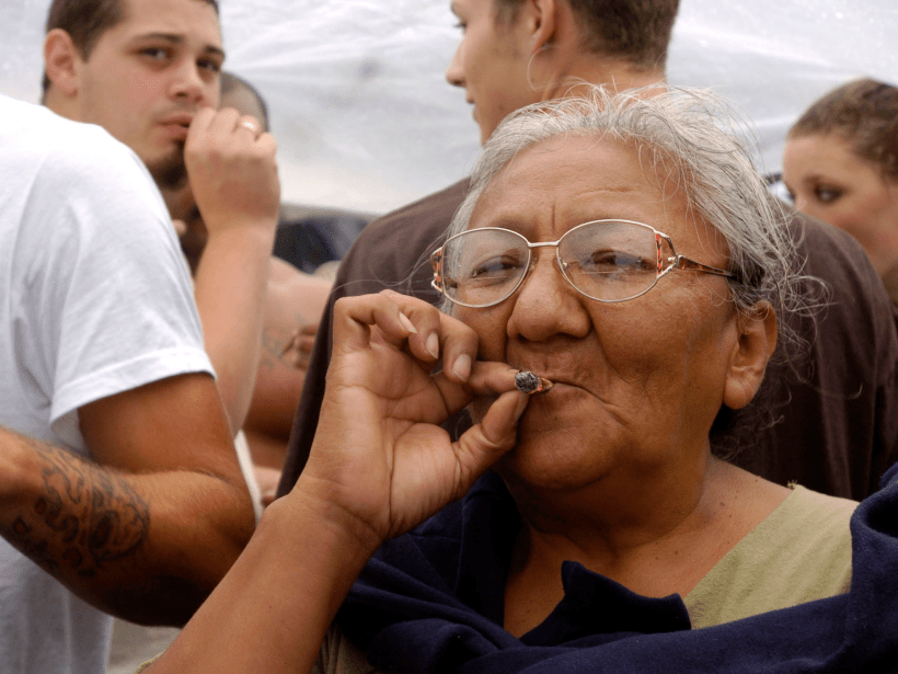 How does marijuana affect older adults?