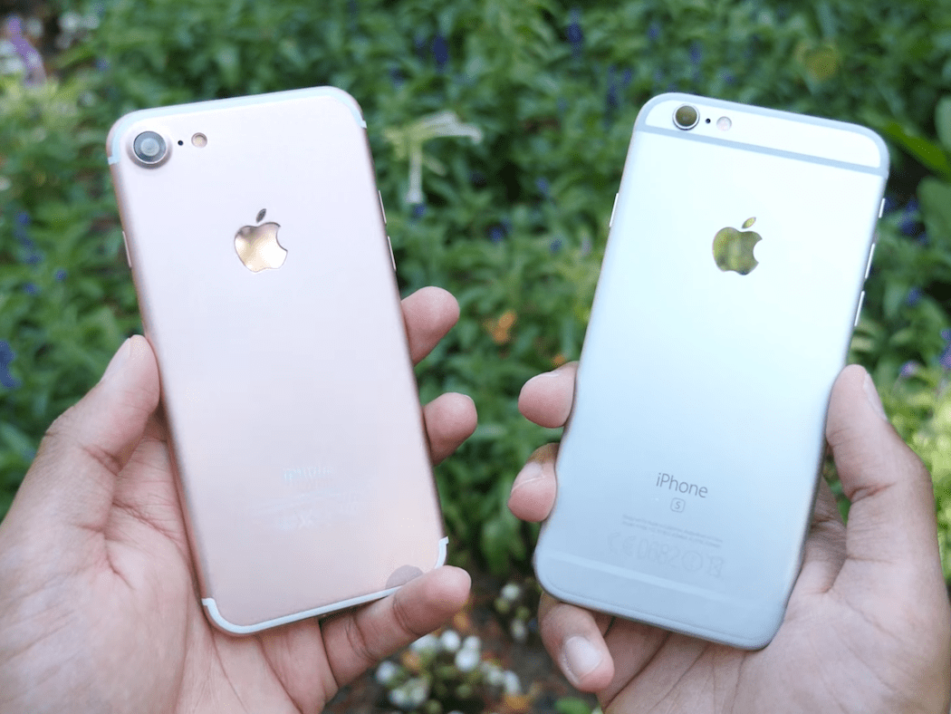 The iPhone 6S still looks like the iPhone 7 and iPhone 8.