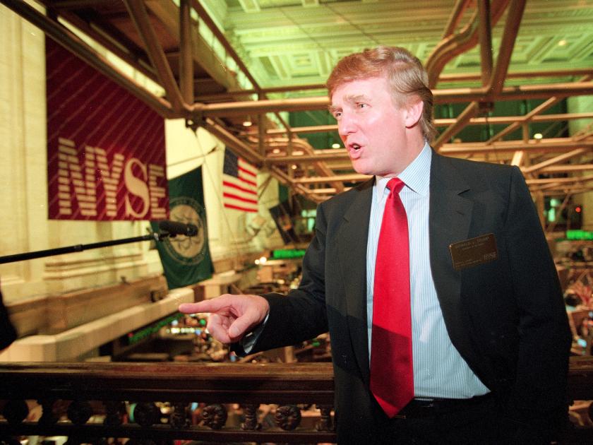 Trump NYSE
