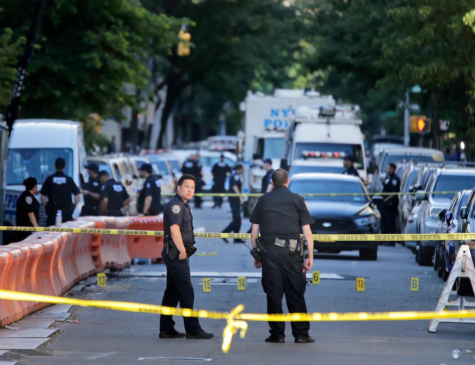 nypd bronx police shooting