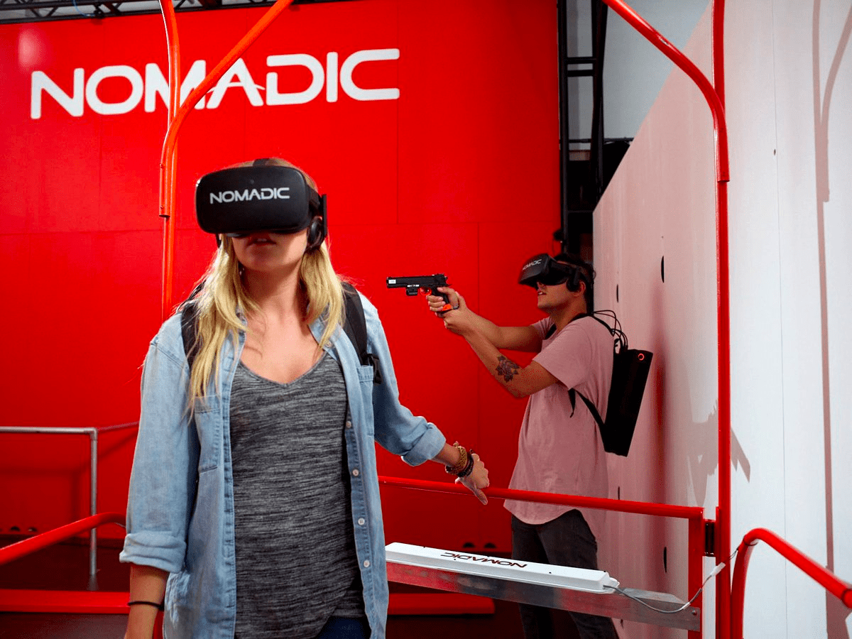 NomadicVR thinks the future of entertainment will be an arcade.