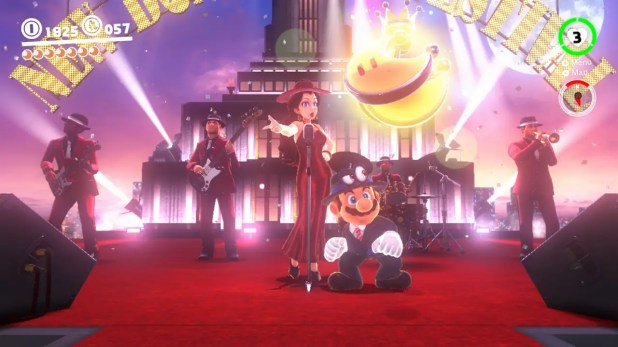 And then it's time to party with Pauline and the rest of New Donk City, naturally: