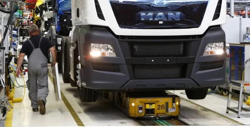 Volkswagen's Truck Brand Man Spends $28 Billion To