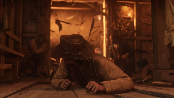 the games main character is arthur morgan a member of the van der linde gang  a crew who played an important role in the previous red dead game - جديد لعبة Red Dead Redemption II 2018