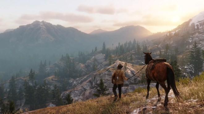 red dead redemption 2 looks to continue and expand on that world - جديد لعبة Red Dead Redemption II 2018