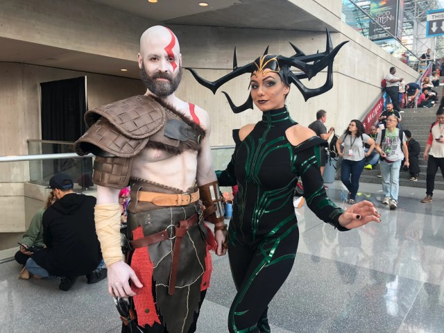 kratos hela thor cosplay nycc 2018.JPG