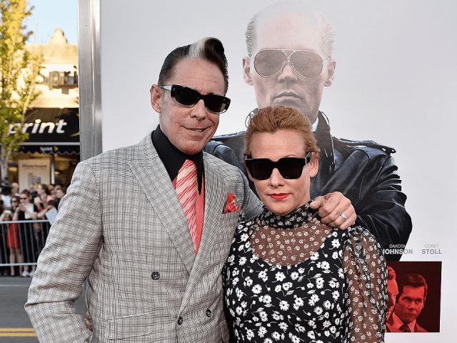 Mark Mahoney and Nicole Mahoney attend the 'Black Mass' Boston special screening at the Coolidge Corner Theatre on September 15, 2015 in Boston, Massachusetts.
