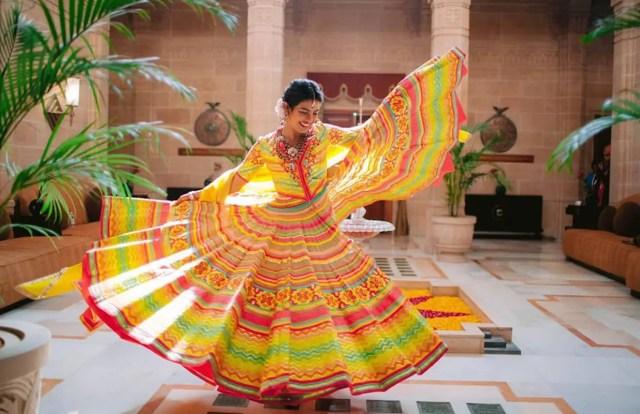 Priyanka Chopra pre-wedding gown