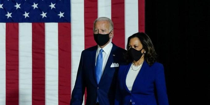 biden harris face masks