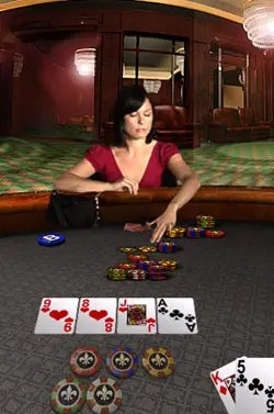 Apple's Texas Hold Em has out-lasted all other iPhone games on our phone