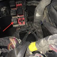 Jeep Patriot Wiring Diagram 2003 Mitsubishi Eclipse Infinity Radio Questions - Please Where Can I Find Second Fuse Or Relay Box For 2007 ...