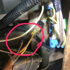 1999 Chevy S10 Headlight Wiring Diagram Bose Home Theater Chevrolet S 10 Questions Driver Side Rear Running Light And Any Suggestions Could It Be More Corrosion Elsewhere What Am I Looking At To Get This Fixed Parts Wise Myself Or Price A Mechanic